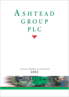 2002 Annual Report cover