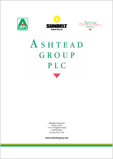 2003 Annual Report cover